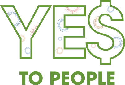 YE$ to People logo
